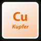 Cu Kupfer